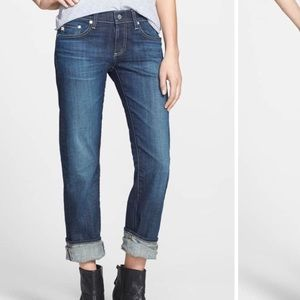 AG The Tomboy Relaxed Boyfriend Straight Leg Jeans